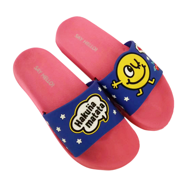 Cute Slippers with Rubber Patch Upper