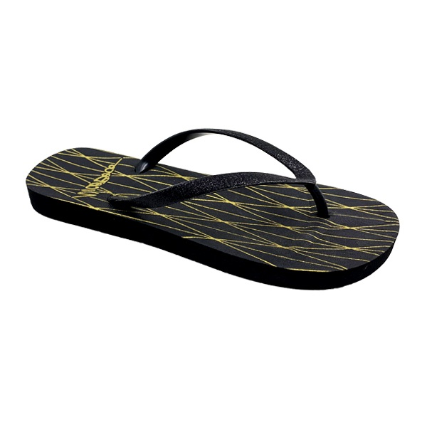 Flip Flop with Concave Down Footbed
